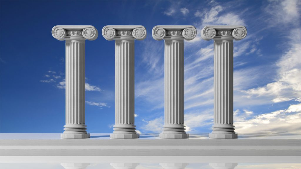 Image result for four roman pillars